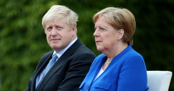Witając premiera Wielkiej Brytanii Borisa Johnsona w Berlinie, kanclerz Angela Merkel oświadczyła, że Niemcy są gotowe na nieregulowane wyjście Zjednoczonego Królestwa z Unii Europejskiej.