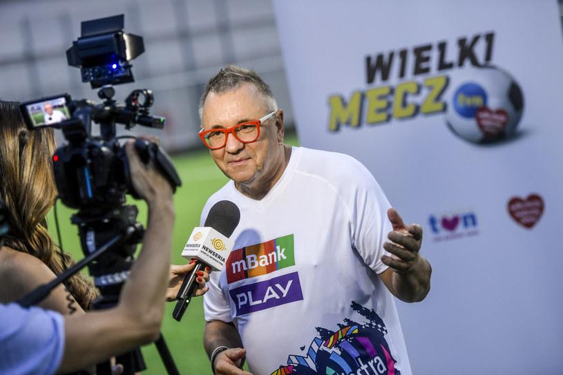 Za nieco ponad dwa tygodnie, 8 września na stadionie Legii w Warszawie po raz trzeci odbędzie się charytatywny mecz piłkarski pomiędzy TVN a reprezentacją Wielkiej Orkiestry Świątecznej Pomocy. Za nami otwarty trening - kto pojawił się na boisku?