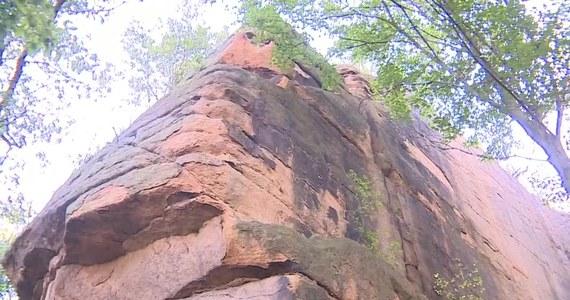13-latka spadła z 15-metrowej skały w Kruczych Skałach na Dolnym Śląsku. Dziewczynka trafiła do szpitala z pęknięciem czaszki i złamaniem ręki. Sprawę wyjaśnia policja.