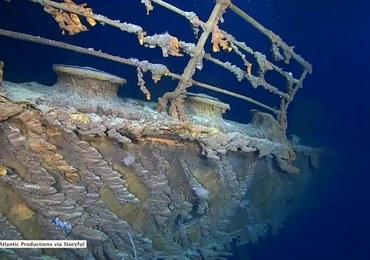 Naukowcy badali wrak Titanica. Po raz pierwszy w historii nagrali go w 4K