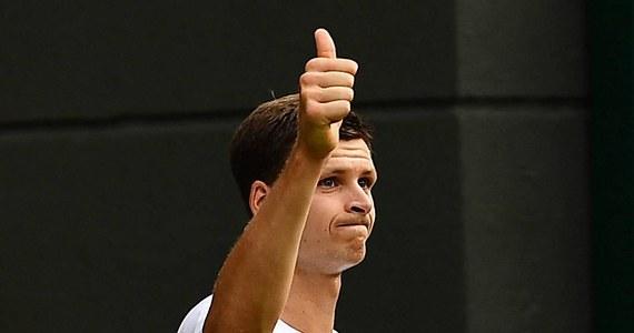 Hubert Hurkacz odniósł życiowy sukces zwyciężając w turnieju ATP w amerykańskim Winston-Salem. 22-letni polski tenisista w finale pokonał Francuza Benoit Paire'a 6:3, 3:6, 6:3.