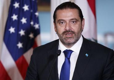 """Premier Libanu ostro krytykuje """"izraelską agresję"""""""