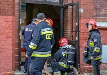 Pożar szkoły w Elblągu. Ewakuowano 40 osób