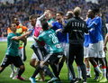 Rangers - Legia 1-0. Brytyjskie media o konfrontacji w Glasgow