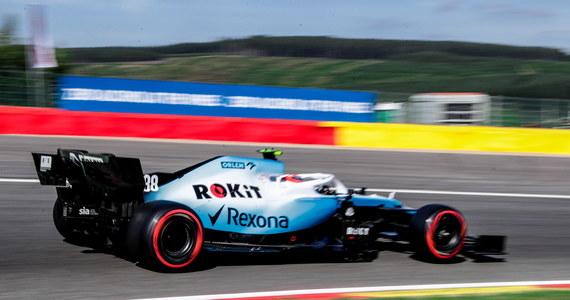Robert Kubica (Williams) zajął ostatnie, 20. miejsce w pierwszym treningu przed niedzielą Grand Prix Belgii na torze Spa-Francorchamps. Najszybszy czas okrążenia miał Niemiec Sebastian Vettel (Ferrari). To 13. runda tegorocznych mistrzostw świata Formuły 1.