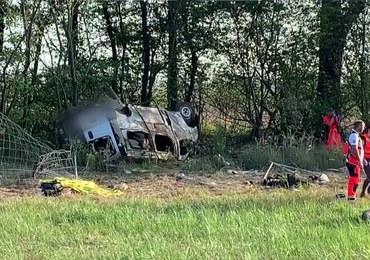 Tragiczny wypadek na A4. Kierowca busa z zarzutami
