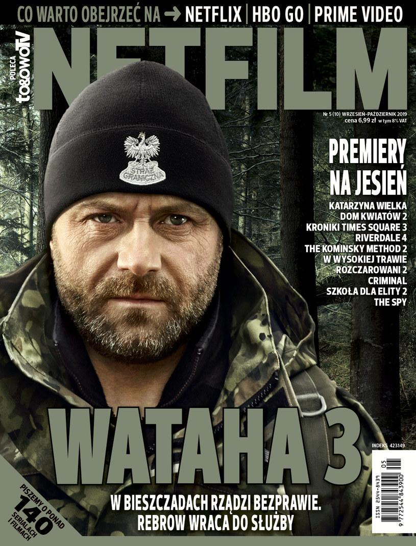 W dziesiątym numerze magazynu NETFILM (w sprzedaży od 3 września) znajdziecie recenzje i opisy ponad 140 filmów i seriali dostępnych w ofercie Netfliksa, HBO GO i Amazon Prime Video.