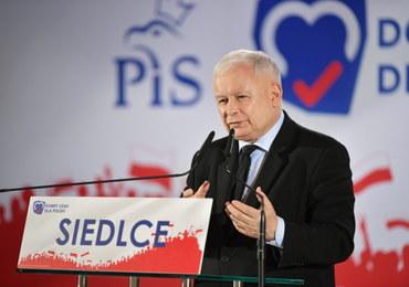 Kaczyński: Utworzymy województwo warszawskie