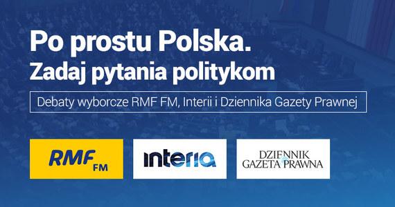 """W specjalnym cyklu debat RMF FM, """"Dziennika Gazety Prawnej"""" i Interii.pl możecie zadawać pytania politykom! Wpisujcie je w specjalny formularz na naszej stronie. Redakcja następnie wybierze kilka z nich i w internetowej części debaty zada je zaproszonym przedstawicielom czołowych polskich partii. Debaty co poniedziałek, początek - godz. 18."""