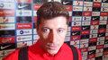Robert Lewandowski po 0-2 ze Słowenią. Wideo