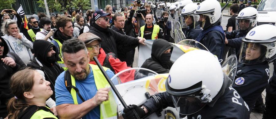 """Według szacunków przynajmniej 1,5 tys. uczestników ruchu """"żółte kamizelki"""" zgromadziło się w sobotę na demonstracji w centrum Montpellier, na południu Francji. Doszło do starć z siłami bezpieczeństwa, aktów wandalizmu. Zatrzymane zostały co najmniej 3 osoby."""