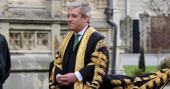 Spiker brytyjskiej Izby Gmin John Bercow zapowiedział w poniedziałek, że ustąpi ze stanowiska 31 października albo z dniem nowych wyborów parlamentarnych, w zależności od tego, co będzie wcześniej.