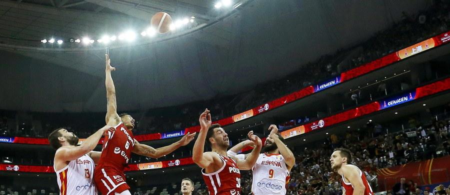 Koniec pięknego snu polskich koszykarzy. Biało-czerwoni przegrali w ćwierćfinale mistrzostw świata z reprezentacją Hiszpanii 90:78 i zagrają o miejsca 5-8.