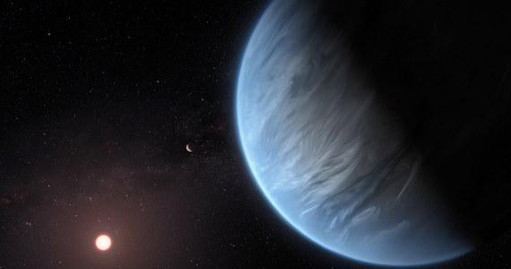 Na egzoplanecie z temperaturą bliską ziemskiej wykryto wodę