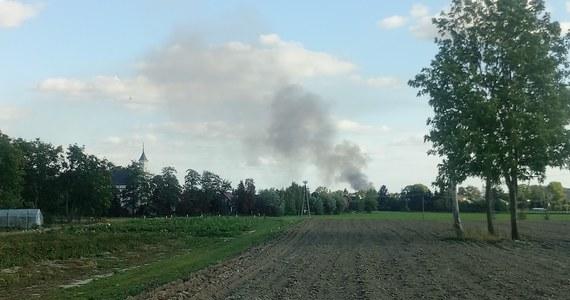 Pożar w sortowni odpadów w Bełżycach koło Lublina. Informację o tym zdarzeniu dostaliśmy na Gorącą Linię RMF FM.