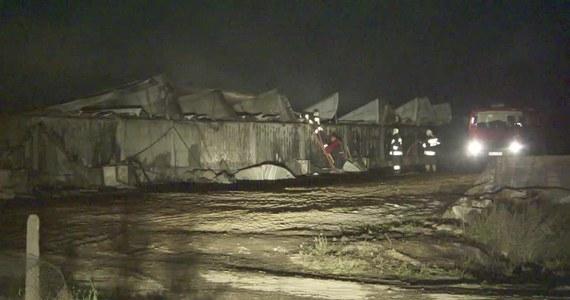 Nawet 3,5 miliona złotych - tyle mogą wynieść straty po nocnym pożarze chlewni w miejscowości Nowoberezowo koło Hajnówki na Podlasiu.