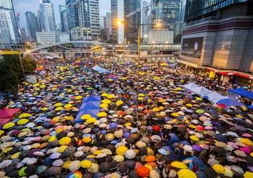 Od 100 dni trwają protesty w Hongkongu. Końca konfliktu nie widać