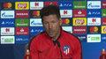 Liga Mistrzów. Diego Simeone (Atletico Madryt) przed meczem z Juventusem. Wideo