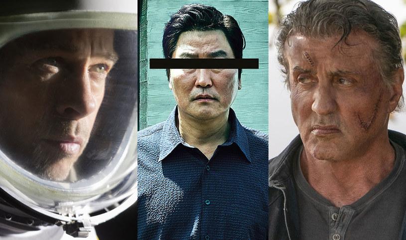 """W piątek, 20 września, na ekrany polskich kin trafia sześć produkcji. Kinowa widownia może wybierać między Bradem Pittem w kosmosie (""""Ad Astrta"""") a Sylvestrem Stallone'em jako podstarzałym Rambo (""""Rambo. Ostatnia krew""""). Listę premier uzupełniają: laureat Złotej Palmy - południowokoreański """"Parasite"""", wojenny romans """"Legiony"""", nowy film Francois Ozona """"Dzięki Bogu"""" oraz druga część animacji """"Angry Birds Film""""."""