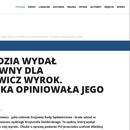 Koleś Pawłowicz wydał przychylny dla niej wyrok.