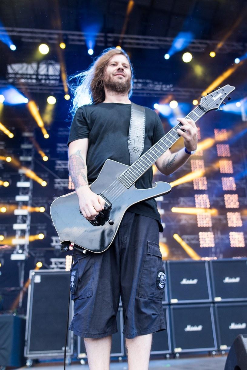 """Wacław """"Vogg"""" Kiełtyka, lider krośnieńskiego Decapitated, został gitarzystą kalifornijskiego Machine Head."""