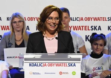 Kidawa-Błońska: Tomasz Grodzki kandydatem KO na ministra zdrowia