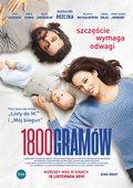 """""""1800 gramów"""": Magdalena Różczka i Piotr Głowacki na plakacie nowej produkcji TVN"""