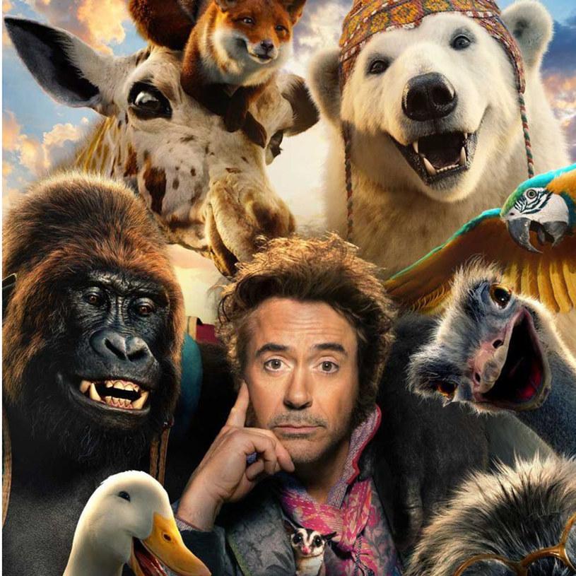 """Superprodukcja """"Doktor Dolittle"""" to """"żywe odtworzenie klasycznej opowieści o człowieku, który umie rozmawiać ze zwierzętami"""". W tytułową postać wcielił się Robert Downey Jr."""