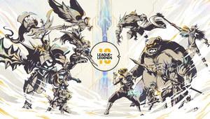 Riot Games hucznie świętuje 10. urodziny League of Legends