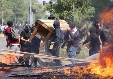 Chile: Trzy ofiary pożaru w Santiago w trakcie protestów