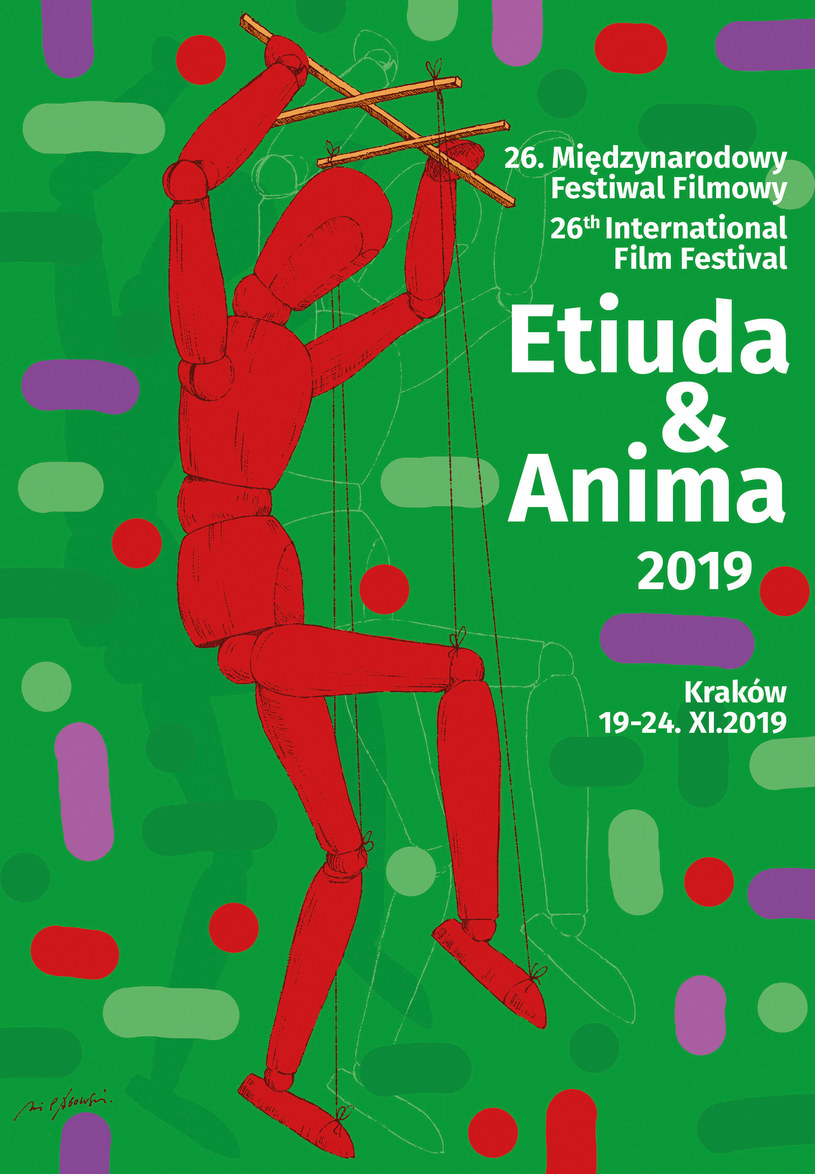Zbliża się 26. Międzynarodowy Festiwal Filmowy Etiuda&Anima w Krakowie. Tegoroczna edycja odbędzie się w dniach 19-24 listopada 2019 roku. W programie między innymi: projekcje filmów, spotkania z twórcami, interaktywne spektakle, warsztaty oraz inne imprezy towarzyszące.