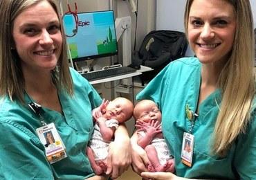 Pielęgniarki przyjęły poród bliźniaczek. A same są identycznymi siostrami!