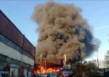 Prezydent Bytomia: Płonące odpady miały być uprzątnięte
