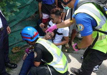 Trzęsienie ziemi na Filipinach. Ludzie uciekali w popłochu