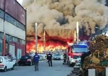 Wielki pożar składowiska odpadów w Bytomiu. Prokuratura wszczęła śledztwo