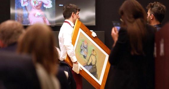 Na aukcji w Mediolanie wystawiono na sprzedaż 55 dzieł sztuki. Obrazy należały niegdyś do właściciela firmy spożywczej Parmalat, Calisto Tanziego. Jej upadek w 2003 roku był największym bankructwem w Europie. Wśród zlicytowanych obrazów były dzieła van Gogha, Moneta i Picassa.