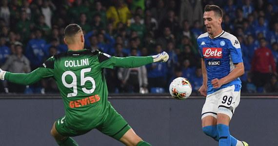 Arkadiusz Milik zdobył bramkę dla Napoli w zremisowanym 2:2 meczu z Atalantą Bergamo w 10. kolejce piłkarskiej ekstraklasy Włoch. To jego czwarty ligowy gol w sezonie, a łącznie 31., dzięki czemu zrównał się z najskuteczniejszym dotychczas Polakiem w Serie A - Zbigniewem Bońkiem.