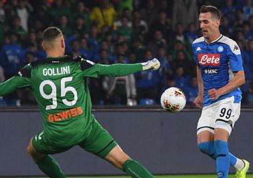 Liga włoska: Gol Milika w remisowym meczu Napoli