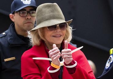 Jane Fonda aresztowana. To czwarty raz w ciągu miesiąca