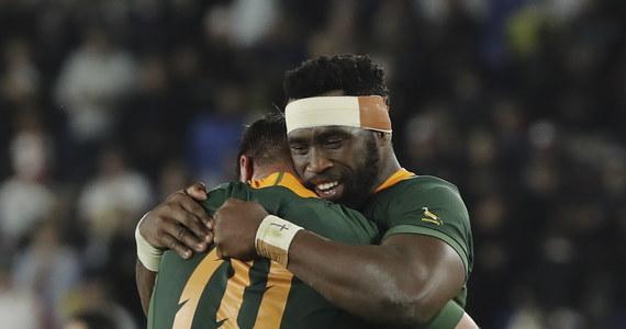 """Reprezentacja RPA w rugby pokonała w Jokohamie Anglików 32:12 (12:6) w finałowym meczu Pucharu Świata. """"Springboks"""" po raz trzeci w historii wygrali prestiżowe rozgrywki, wyrównując rekord Nowozelandczyków."""