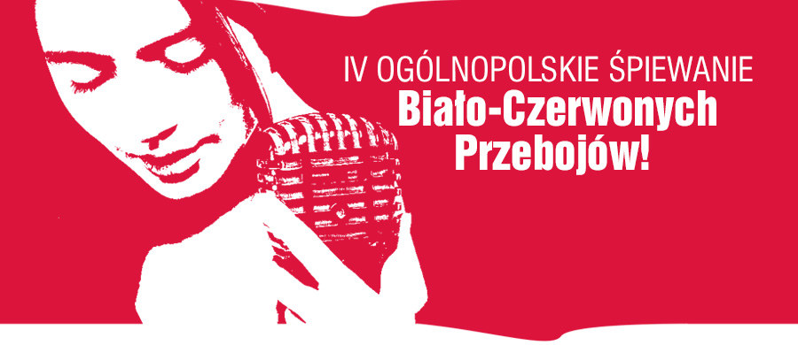 To będzie jedyna taka - patriotyczna i bardzo radosna - impreza w kraju: 11 listopada, w dniu Święta Niepodległości, zapraszamy Was do wspólnego śpiewania biało-czerwonych przebojów! Pomogą nam fachowcy: gwiazdy rodzimej sceny muzycznej. Spotykamy się na Rynku Głównym w Krakowie - startujemy o godzinie 13:00!