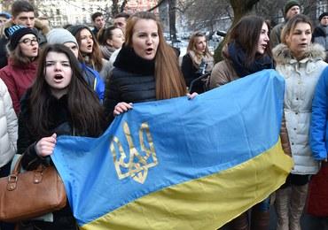 Protesty przed ambasadą RP w Kijowie. Chodzi o zatrzymanie Ihora Mazura