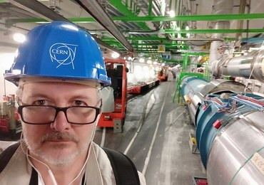 To tu odkryto bozon Higgsa. Spacer w tunelu Wielkiego Zderzacza Hadronów