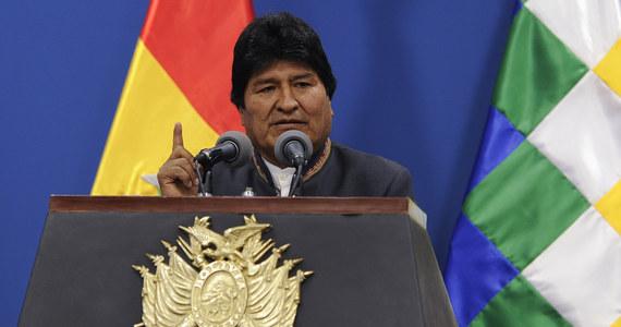 Boliwia: Wydano nakaz aresztowania byłego prezydenta Evo Moralesa