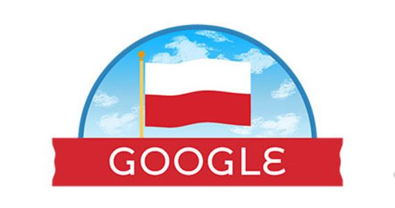 W związku z przypadającym w poniedziałek Narodowym Świętem Niepodległości, logo wyszukiwarki Google ma biało-czerwony napis i wkomponowaną polską flagę.