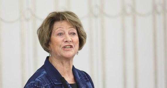Barbara Borys-Damięcka zainaugurowała prace Senatu. Odczytała SMS-a od Tokarczuk