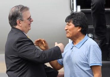 """Evo Morales przyleciał do Meksyku. Dziękował za """"uratowanie mu życia"""""""