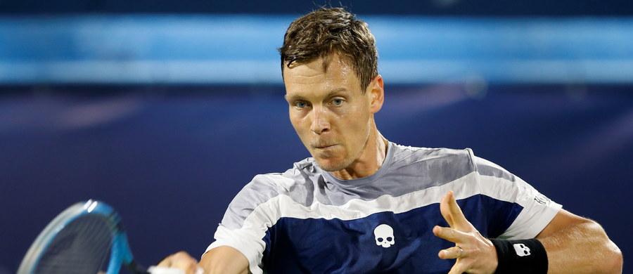 """Czech Tomas Berdych - finalista wielkoszlemowego Wimbledonu z 2010 roku – kończy tenisową karierę. Jego ojciec Martin poinformował na łamach dziennika """"Blesk"""", że sportowiec ogłosi swoją decyzję w sobotę podczas rozgrywanego w Londynie turnieju ATP Finals."""