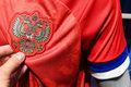 El. Euro 2020. Rosjanie odmówili gry w nowych strojach. Powodem niewłaściwy układ barw na rękawach