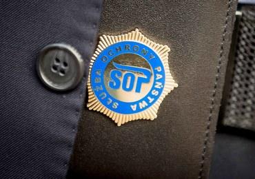 Funkcjonariusz SOP z kokainą. Mężczyzna usłyszał zarzut